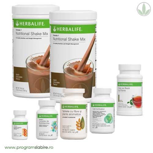 Program avansat de slabire cu Herbalife 4-8 kg